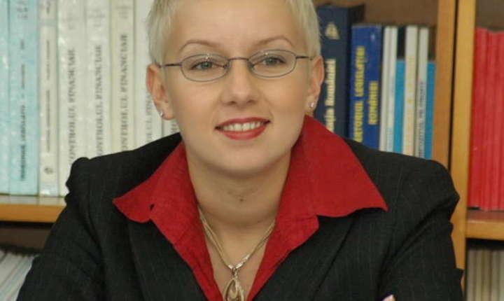 Judecătoarea Dana Gîrbovan (Foto: site UNJR)