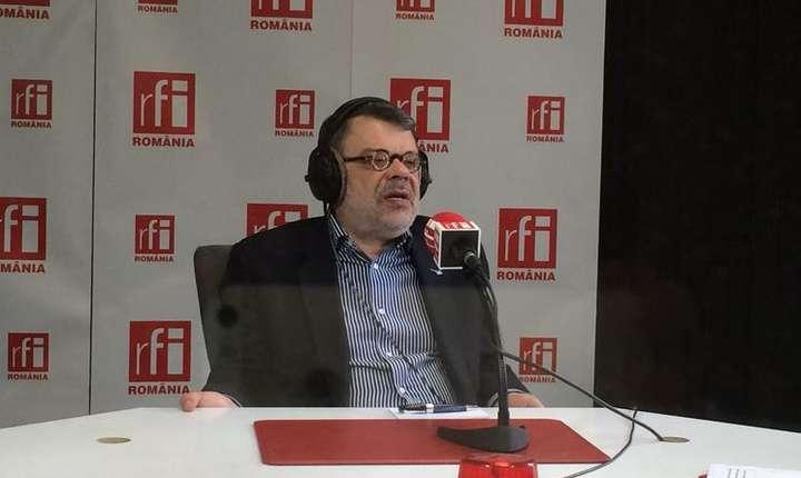 Senatorul Daniel Barbu, în studioul RFI (arhivă)