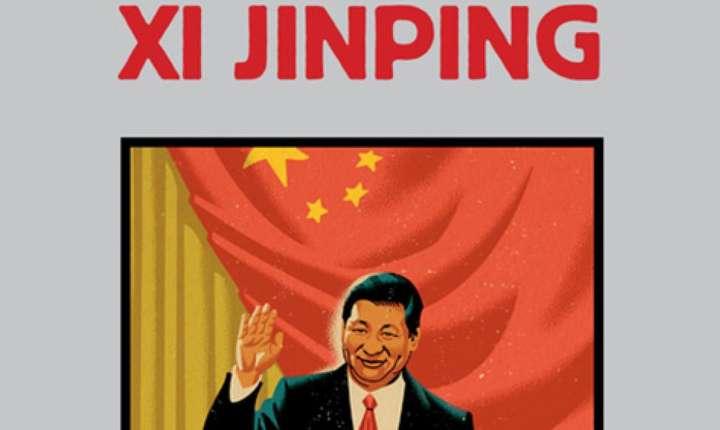 """Coperta cartii """"In capul lui Xi Jinping"""" de François Bougon, publicata la Editura Actes Sud."""