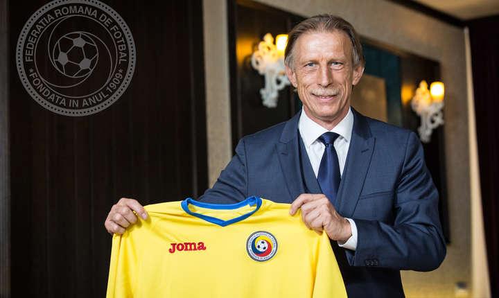 Cristoph Daum a fost numit selecționer al echipei naționale de fotbal a României pe 7 iulie 2016