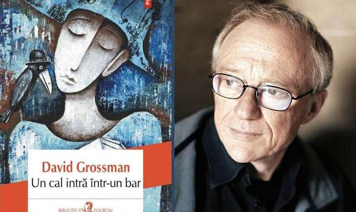 Romanul Un cal intră într-un bar, David Grossman