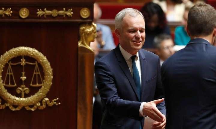 François de Rugy, noul presedinte al parlamentului francez, în deschiderea sesiunii parlamentare, 27 iunie 2017