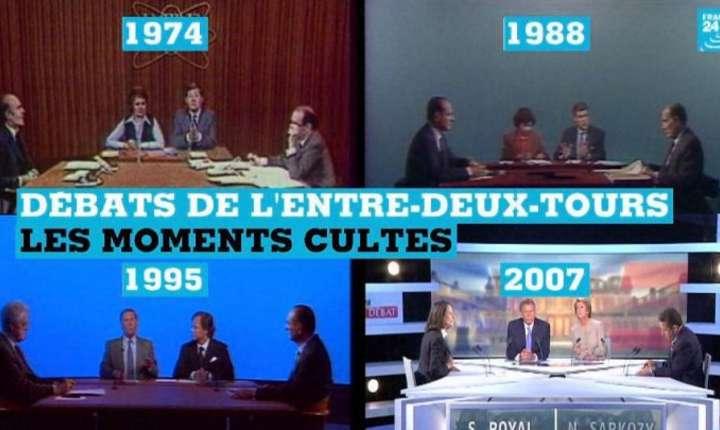 Momente antologice ale dezbaterilor televizate dintre doua tururi de scrutin