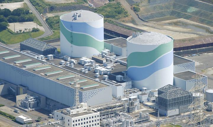 Centrala nucleară de la Sendai (Foto: Reuters/Kyodo)