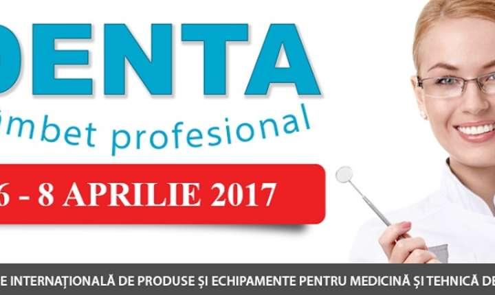 DENTA - Expoziție internațională de produse și echipamente pentru medicină și tehnică dentară, Romexpo, 2017
