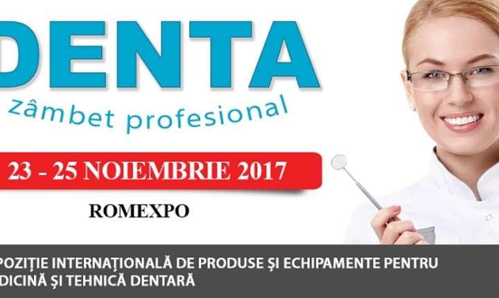DENTA - Expoziția internaționale de produse și echipamente pentru medicină și tehnică dentară 2017