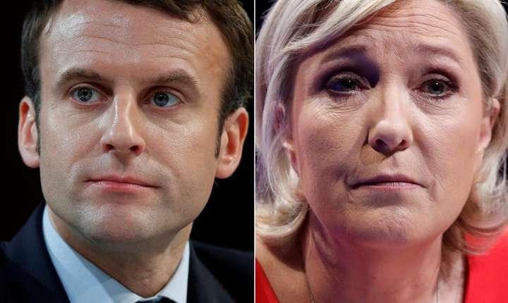 Emmanuel Macron si Marine Le Pen, finalistii pentru prezidentialele din Franta