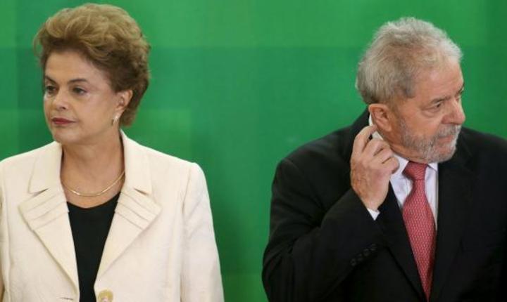 Dilma Rousseff a fost mai întâi fidela colaboratoare a predecesorului ei Lula da Silva înainte de a-i lua locul în fruntea statului