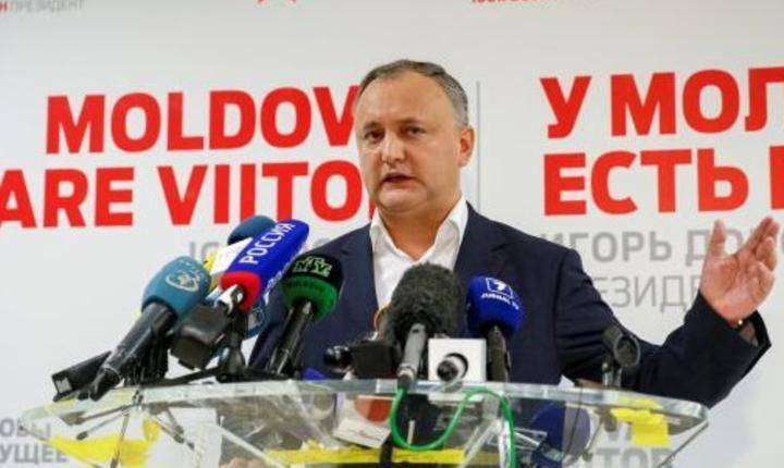 Socialistul pro-rus Igor Dodon a câștigat alegerile prezidenţiale din Republica Moldova și va fi noul președinte
