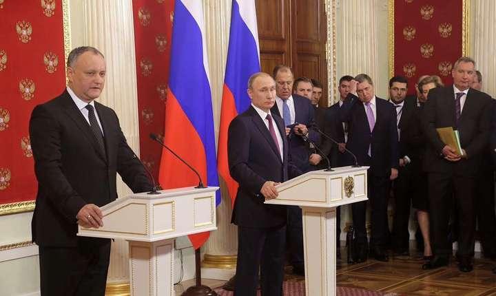 Exportatorii moldoveni, consideră Dodon, au pierdut cea mai importantă piață - cea rusească