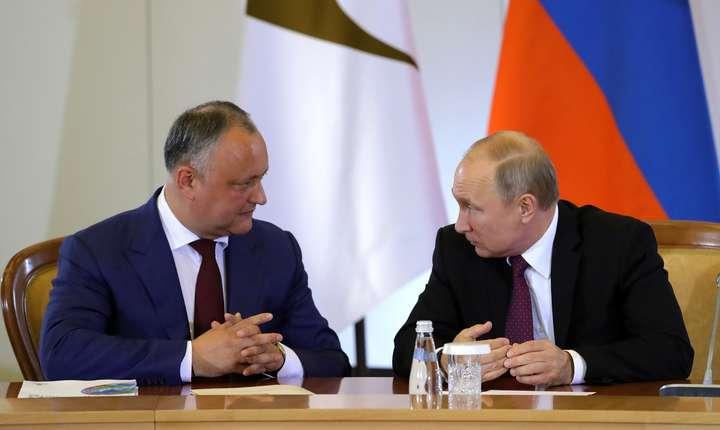 Puterea în Republica Moldova a fost uzurpată de oligarhi, care au acaparat toate instituțiile de stat (Vladimir Putin)