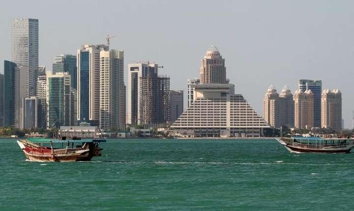 Doha, capitala Qatar, 5 iunie 2017