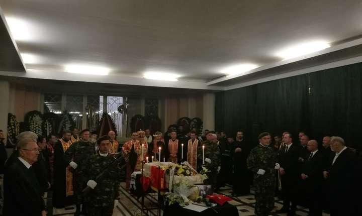 Cunoscuta luptătoare anticomunistă Doina Cornea a fost condusă, la Cluj, pe ultimul drum, luni, 7 mai 2018.