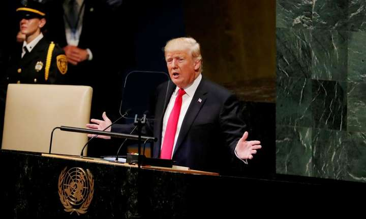 Donald Trump la tribuna ONU, 25 septembrie 2018