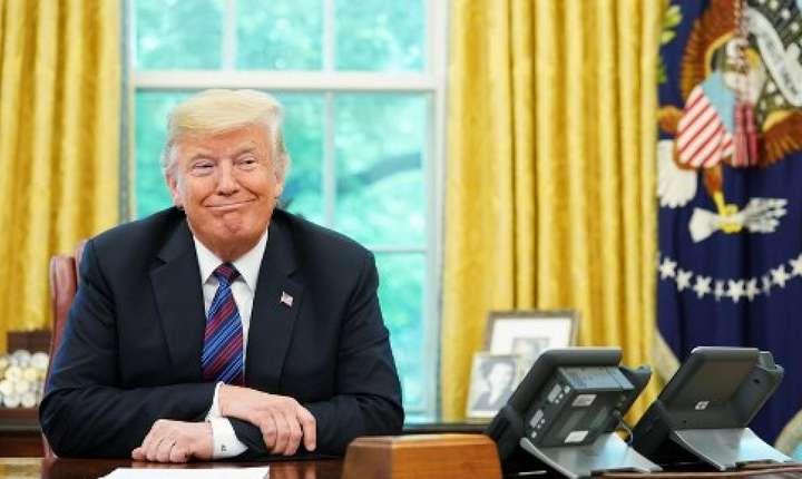 Declarație mesianică a lui Donald Trump: Eu sunt alesul (Foto: AFP/Mandel Ngan)