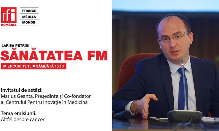 Dr. Marius Geantă, Preşedinte şi Co-fondator al Centrului Pentru Inovaţie în Medicină