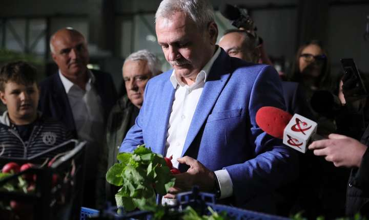 Preşedintele PSD, Liviu Dragnea, a efectuat miercuri, 10 aprilie 2019, o vizită de teren în județul Giurgiu, localitatea Colibași, locul de unde a pornit Programul de Tomate.