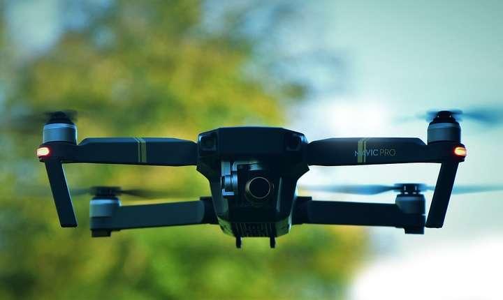 Garda Civilă Spaniolă amendează pilotând drone