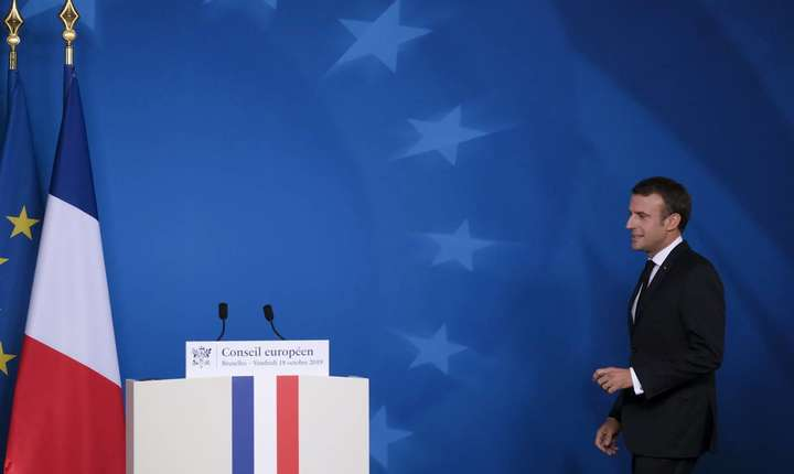 Macron oct 2019