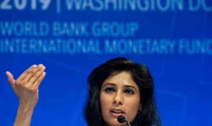 Economista-sefa a FMI Gita Gopinath la Washington.