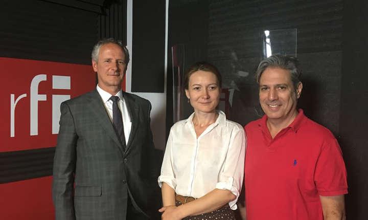 François Coste, Adriana Record et Nicolas Don