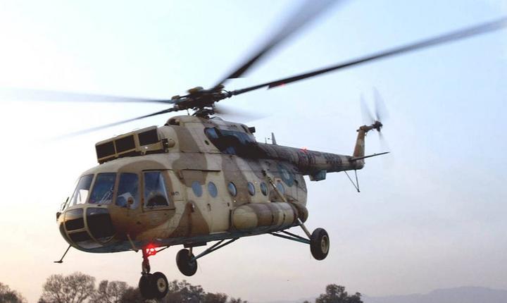 Elicopter MI-17, de fabricație rusească
