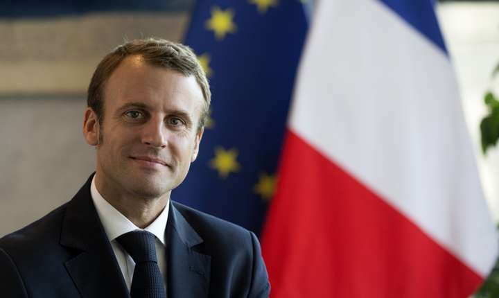 Emmanuel Macron va vizita România, la invitaţia preşedintelui Iohannis.