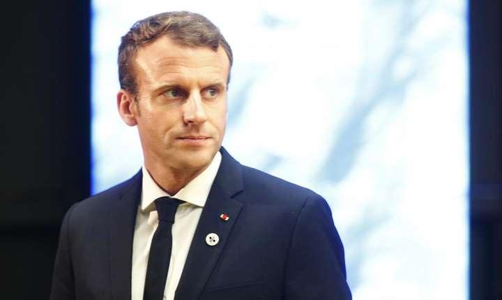 Emmanuel Macron face apel la armonie, după noile violenţe din Franţa (Foto: Reuters/Ints Kalnins)