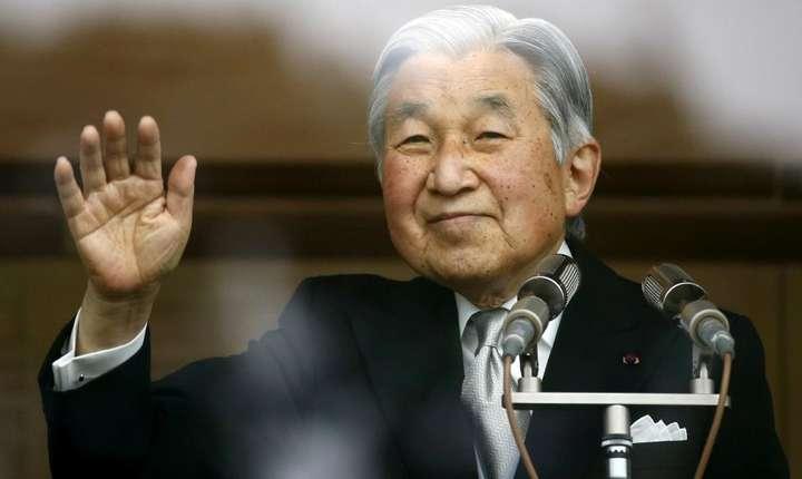 Împăratul Akihito în 2015