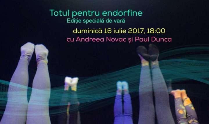 Afiș Totul despre endorfine, CNDB 2017