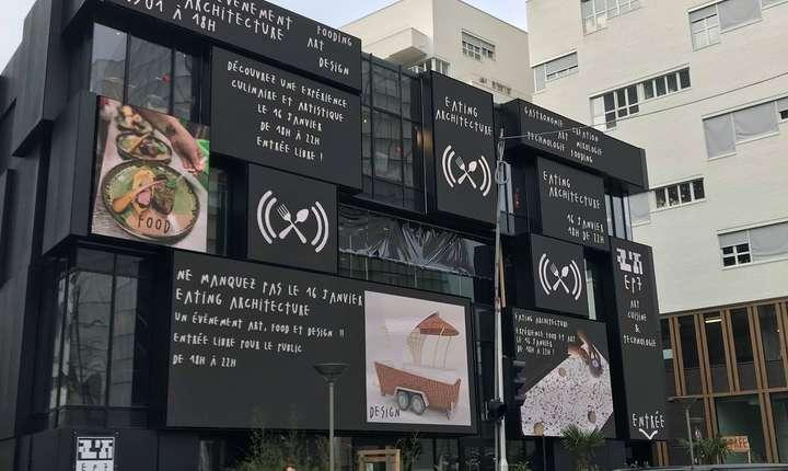 EP7 este un nou loc cultural din Paris care gazduieste în cadrul sezonului Franta- România evenimentul 'Eating arhitecture'.