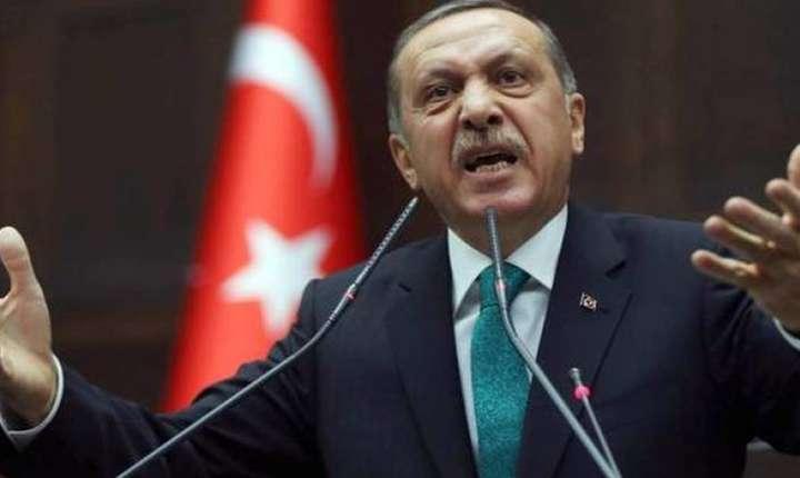 Erdogan luptă pe toate fronturile cu milițiile kurde. Ofensivă de amploare în nordul Siriei, arestări în Turcia