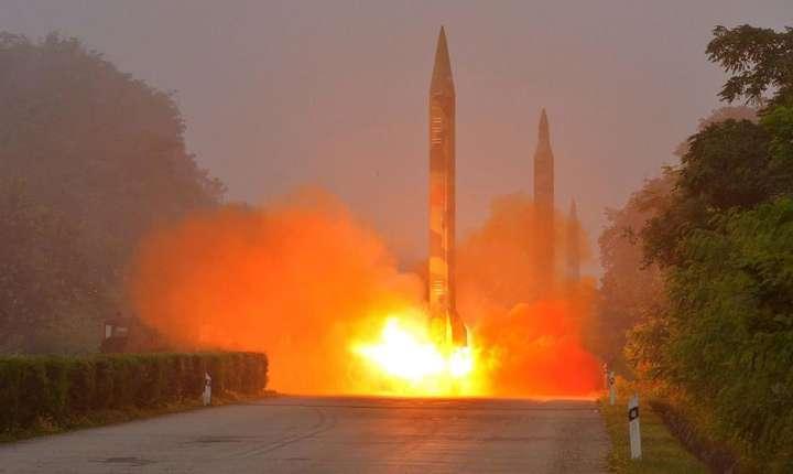 Este al 8-lea tir de racheta nord-coreeana de la începutul anului 2017