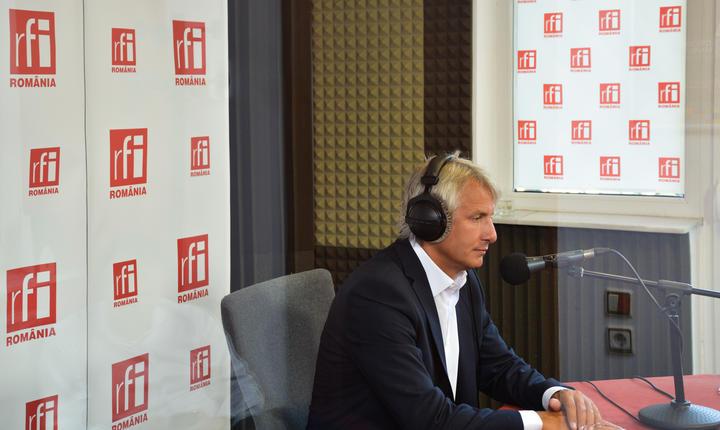 Ministrul de Finanţe, Eugen Teodorovici, în studioul RFI