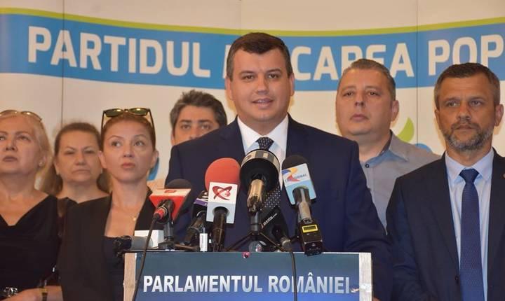 Eugen Tomac: PMP va avea propriul candidat pentru Cotroceni (Sursa foto: Facebook/Eugen Tomac)