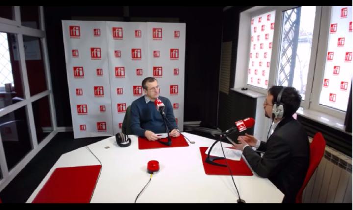 Cristian Preda, în studioul RFI, 17 martie 2017