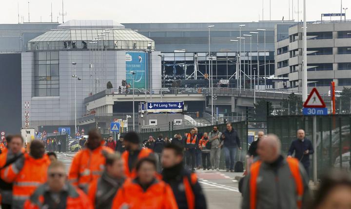 Aeroportul Zaventem din Bruxelles (Foto: Reuters/Francois Lenoir)
