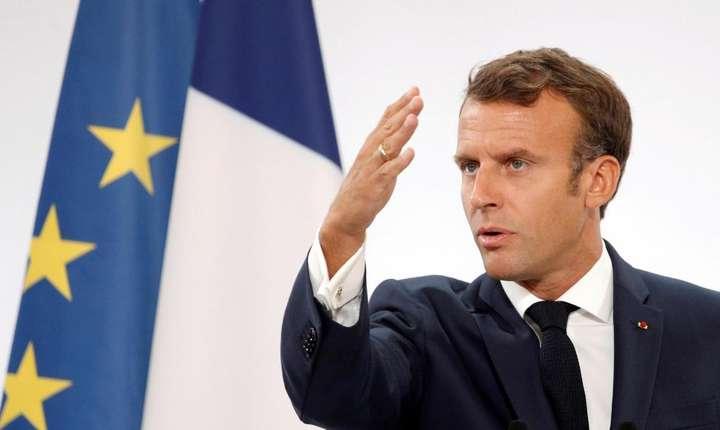 Preşedintele Emmanuel Macron, discurs la Palatul Elysée, 27 august 2019
