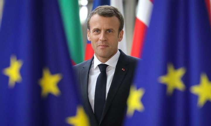 Preşedintele Emmanuel Macron