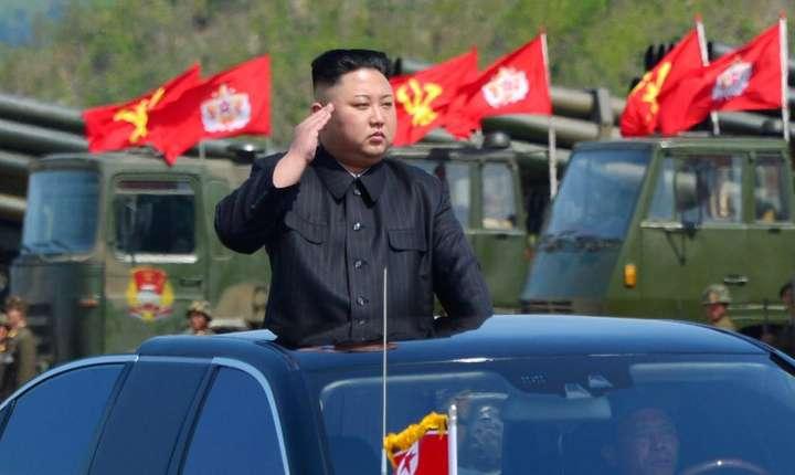 Kim Jong-un a ameninţat recent că va ataca insula americană Guam (Foto: KCNA via Reuters/arhivă)