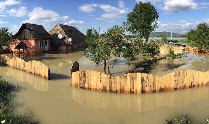 Inundaţii masive în România, iunie-iulie 2018 (Sursa foto: gov.ro)