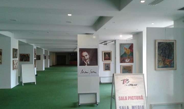 Expoziția de pictură a poetului Marin Sorescu