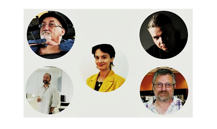 Michael Haulică, Dănuț Ungureanu, Ana-Maria Negrilă, Oliviu Crâznic și Marian Truță