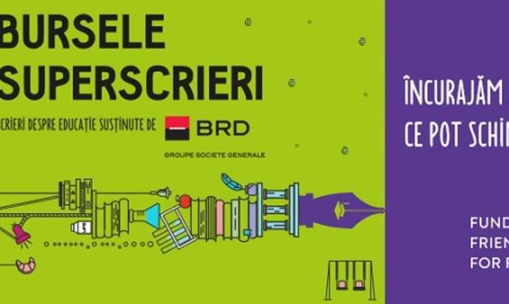 Afiș FFFF - Burse Superscrieri 2017