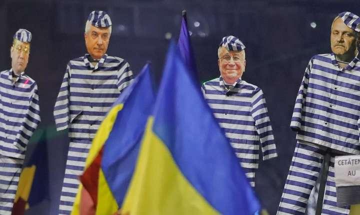 Fotografia care ilustreazà ancheta din Figaro consacratà României si PSD-ului