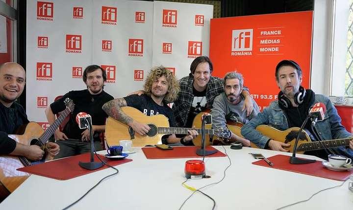 FiRMA și Valentin Panduru, în studioul RFI România (foto: Eduard Va)