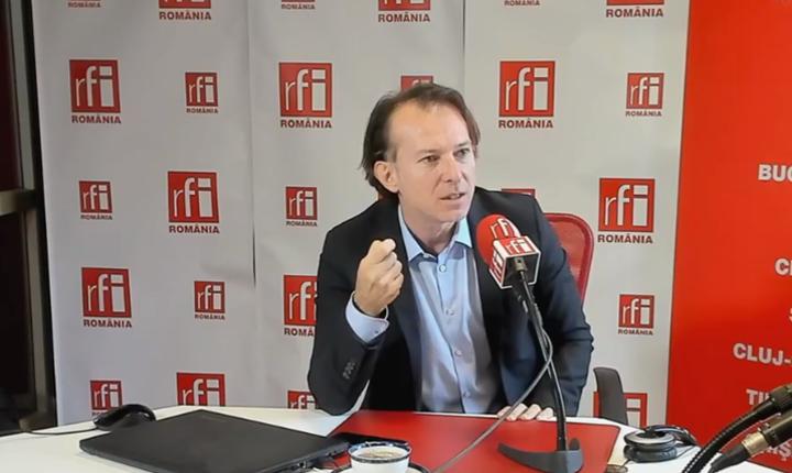 Florin Cîțu critică proiectul rectificării bugetare
