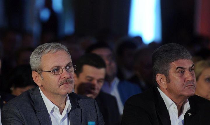 Liviu Dragnea (PSD) şi Gabriel Oprea (UNPR)