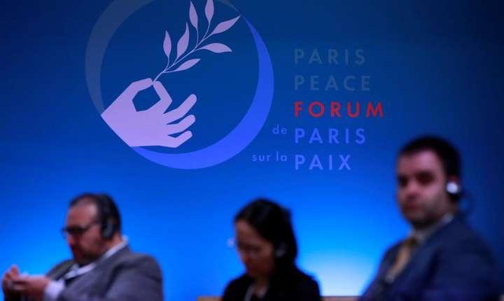 Forumul pentru pace de la Paris s-a încheiat marti, 13 noiembrie