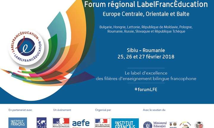 Forum LabelFrancÉducation, Sibiu 2018